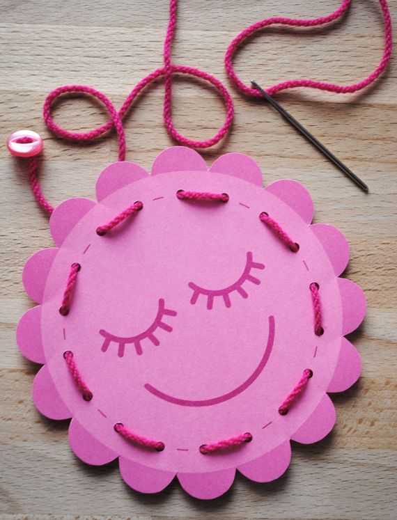 Make sewing cards for some creative fun!