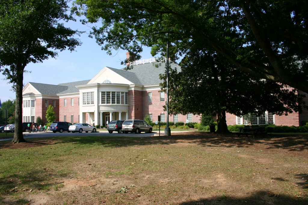 The Main Library in Easley, South Carolina.